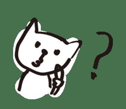 easy cat sticker #663894