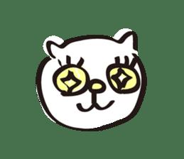easy cat sticker #663903