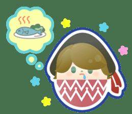 Happy Egg Friends sticker #664041