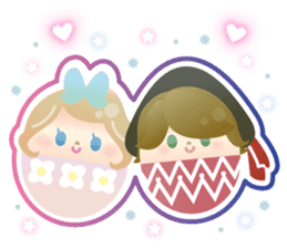 Happy Egg Friends sticker #664043