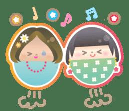 Happy Egg Friends sticker #664044