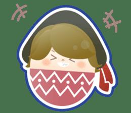 Happy Egg Friends sticker #664049