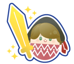 Happy Egg Friends sticker #664057