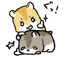 Positive hamsters sticker #664066