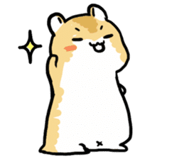 Positive hamsters sticker #664067