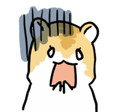 Positive hamsters sticker #664087