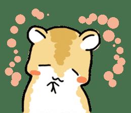 Positive hamsters sticker #664092