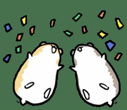 Positive hamsters sticker #664093