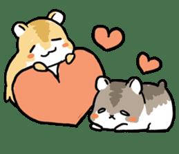 Positive hamsters sticker #664102
