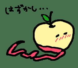 """""""apo-san"""" the apple sticker #665107"""