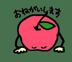 """""""apo-san"""" the apple sticker #665109"""