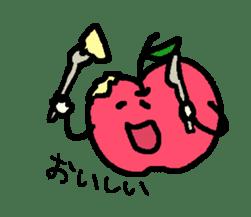 """""""apo-san"""" the apple sticker #665110"""