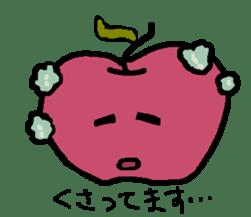 """""""apo-san"""" the apple sticker #665114"""
