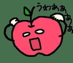 """""""apo-san"""" the apple sticker #665115"""