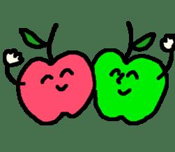 """""""apo-san"""" the apple sticker #665130"""