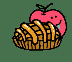 """""""apo-san"""" the apple sticker #665138"""