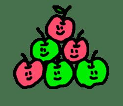 """""""apo-san"""" the apple sticker #665139"""