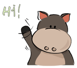 Pigly and friends sticker #665388
