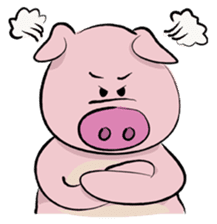 Pigly and friends sticker #665389