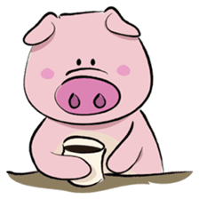 Pigly and friends sticker #665391