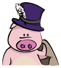 Pigly and friends sticker #665405
