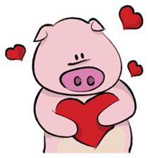 Pigly and friends sticker #665409