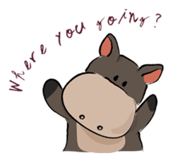 Pigly and friends sticker #665411
