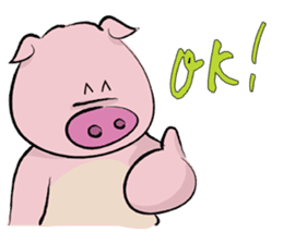 Pigly and friends sticker #665415