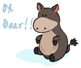 Pigly and friends sticker #665416