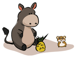 Pigly and friends sticker #665418