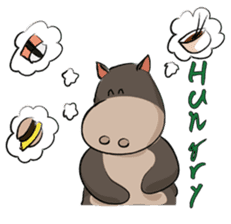 Pigly and friends sticker #665423