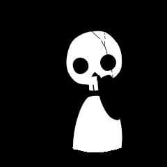 Skeleton panda