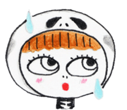 Skeleton MOON sticker #665673