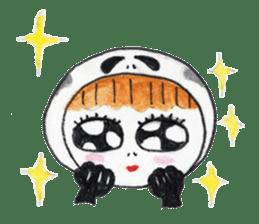Skeleton MOON sticker #665686
