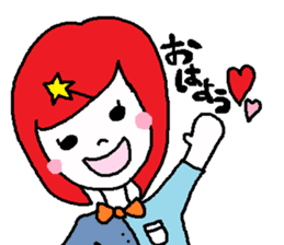 colorfulGirl sticker #665746