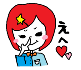colorfulGirl sticker #665763