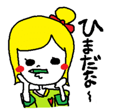 colorfulGirl sticker #665780