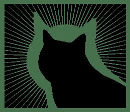 B&W Cats sticker #665882
