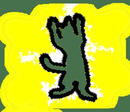 B&W Cats sticker #665890