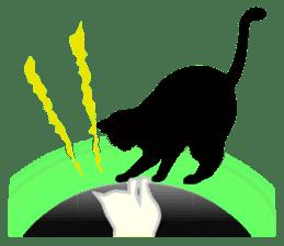 B&W Cats sticker #665902