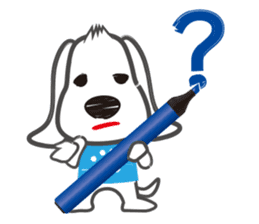"Pen Dog ""Rasso"" sticker #666434"