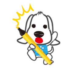 "Pen Dog ""Rasso"" sticker #666437"