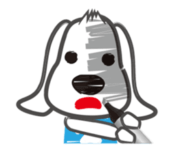 "Pen Dog ""Rasso"" sticker #666454"