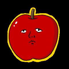 Human face fruit