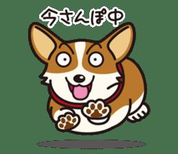 Dog Stamp vol.9 Welsh Corgi sticker #666628