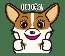 Dog Stamp vol.9 Welsh Corgi sticker #666630