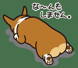 Dog Stamp vol.9 Welsh Corgi sticker #666631