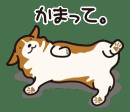 Dog Stamp vol.9 Welsh Corgi sticker #666651
