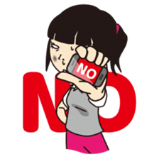 Not angry!(English) sticker #667000