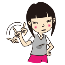 Not angry!(English) sticker #667024
